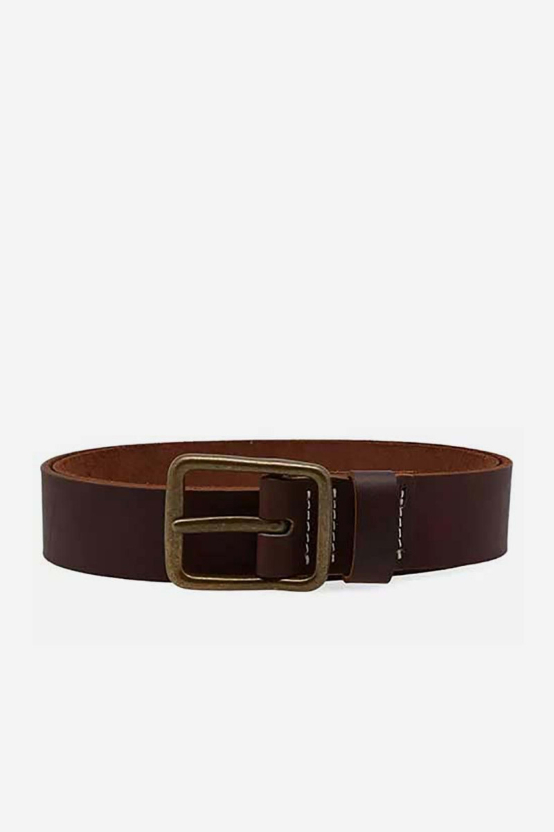 Pioneer leather belt Style n.96502 amber