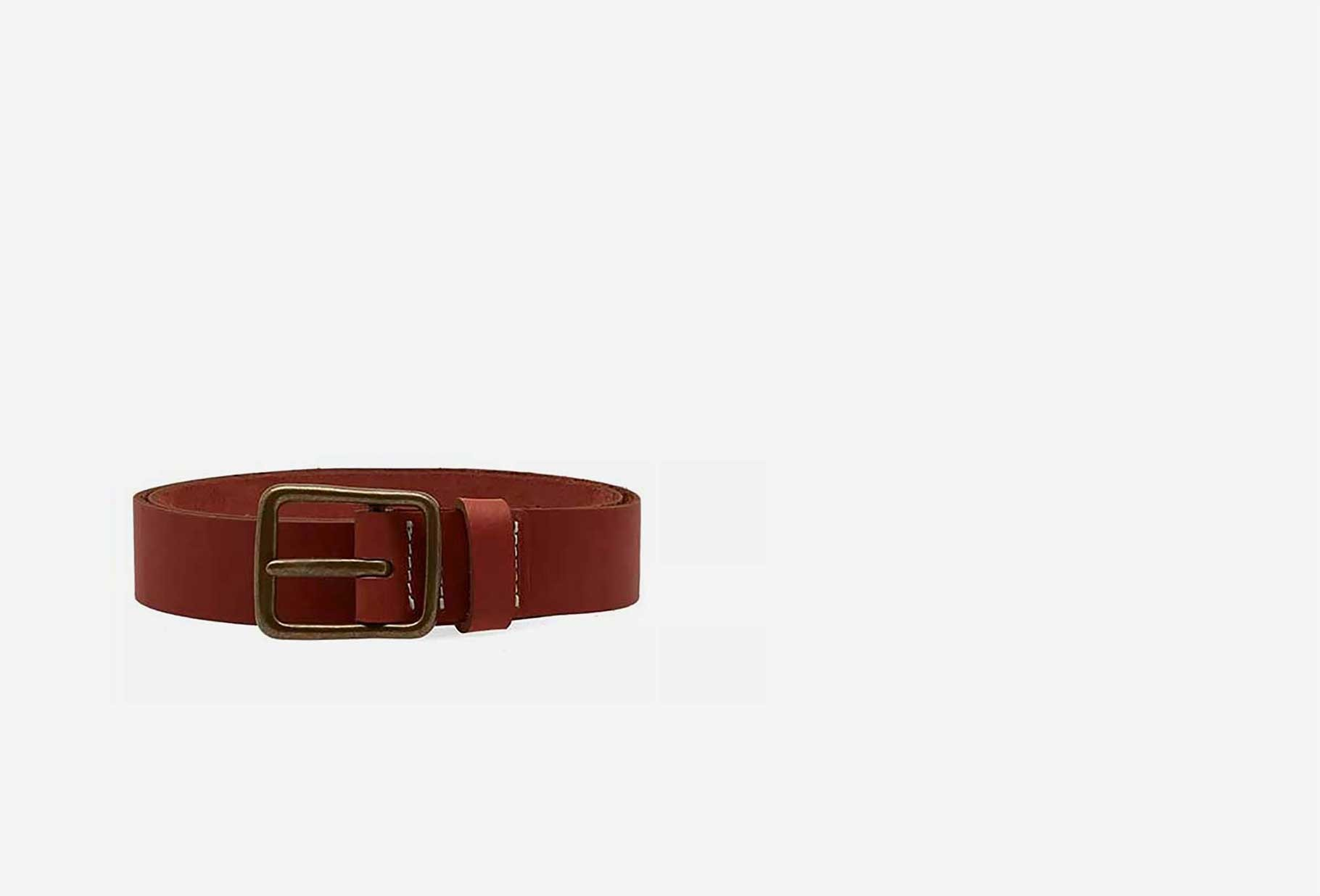 RED WING / Pioneer leather belt Style n.96500 russet