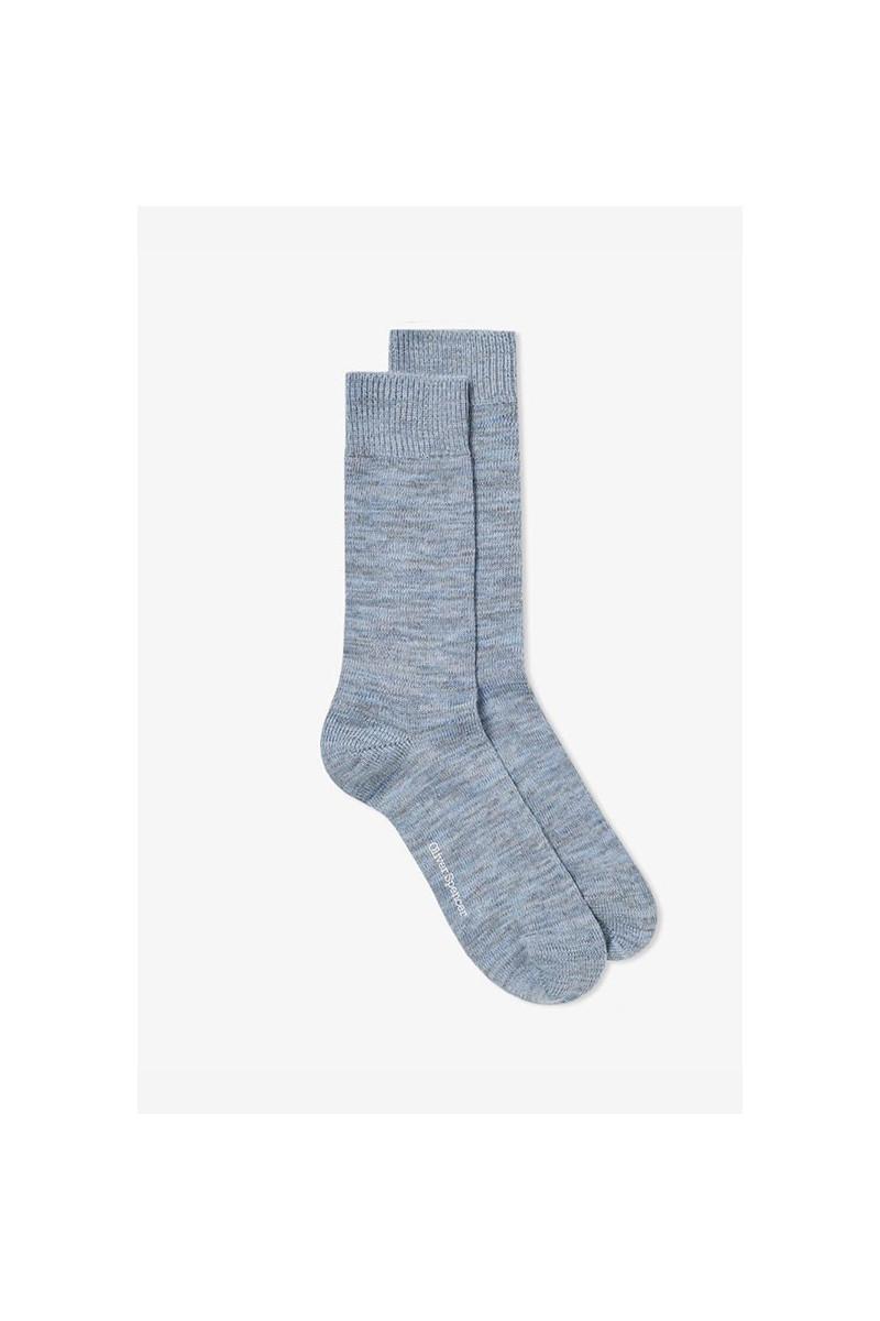 Miller socks Blue grey