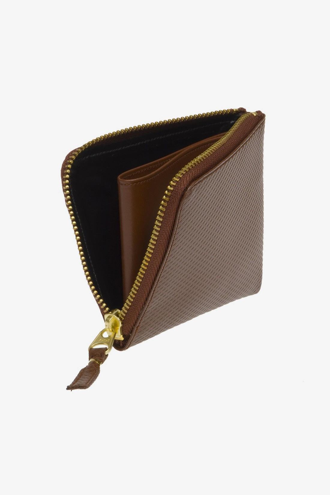 CDG WALLETS / Cdg luxury group 3100lg Brown