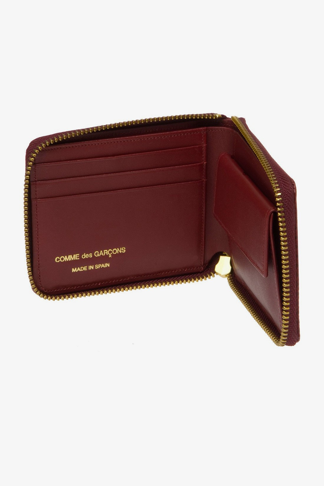 CDG WALLETS / Cdg luxury group sa7100lg Burgundy