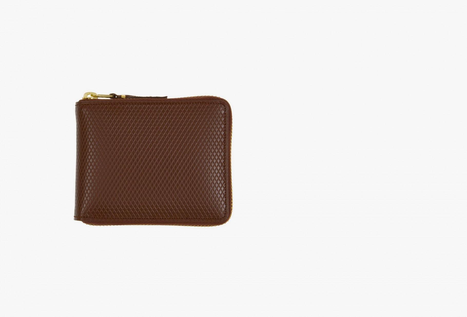 CDG WALLETS / Cdg luxury group sa7100lg Brown