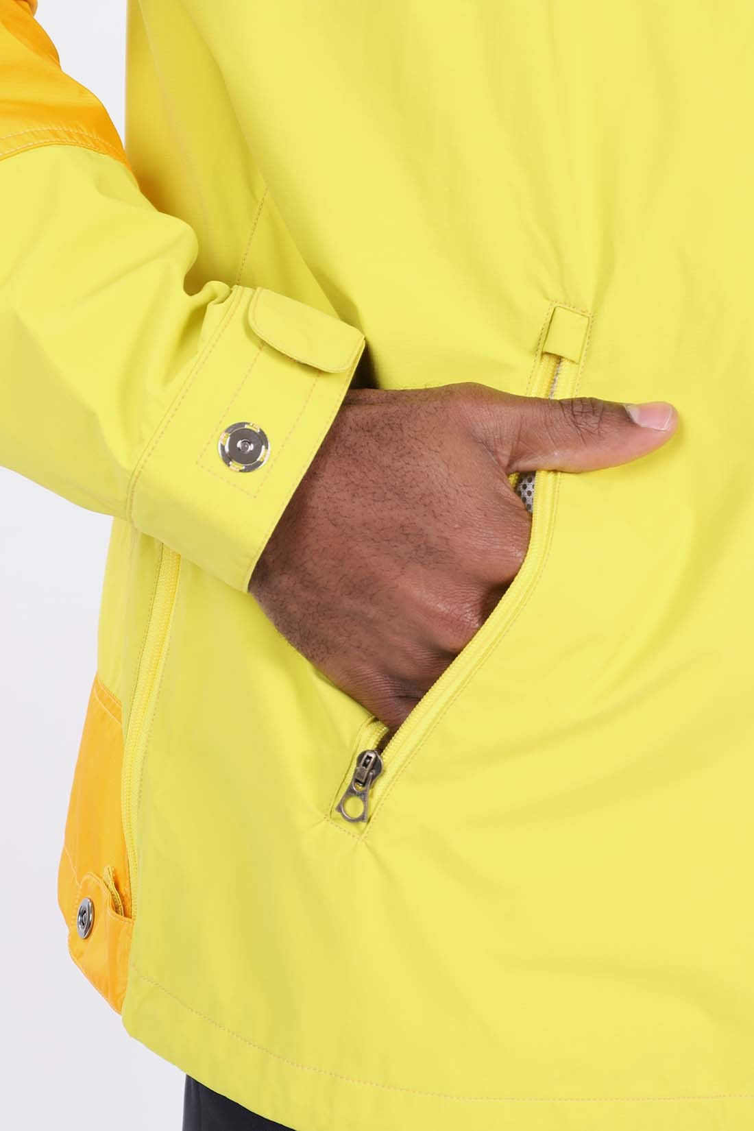 / Wcj903 eye popover jacket Yellow