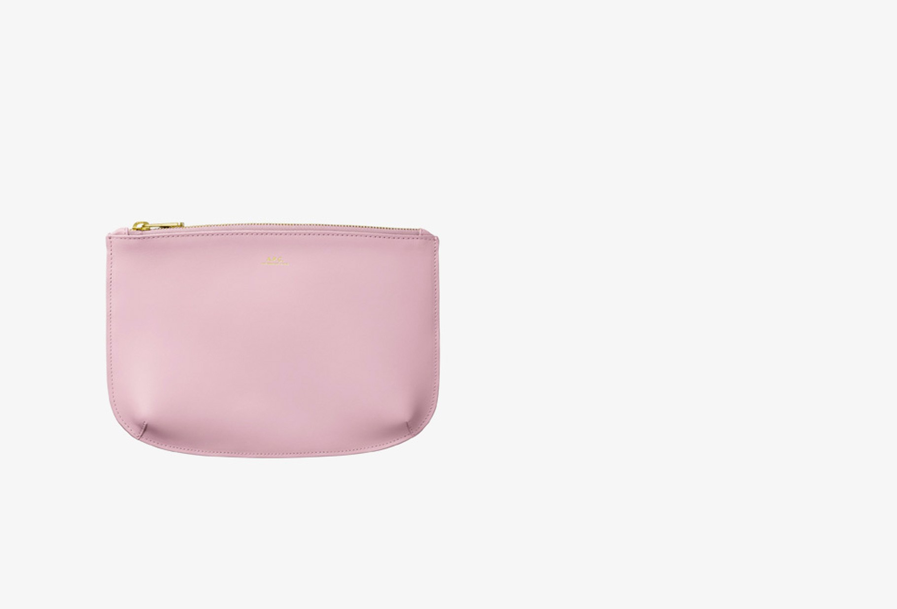 A.P.C. FOR WOMAN / Pochette sarah Rose pale