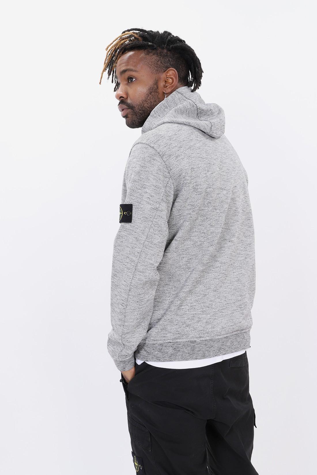 STONE ISLAND / 62838 hooded zip jacket v0060 Grigio