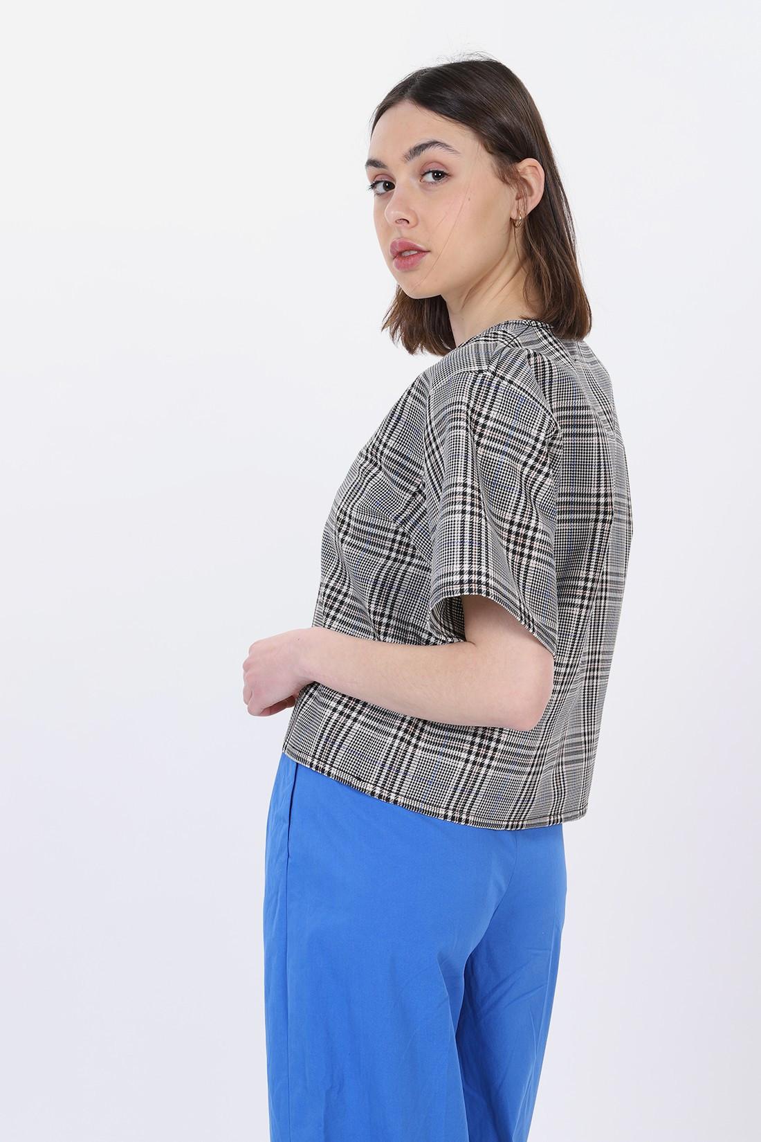 MM6 MAISON MARGIELA / Loose fit top White black