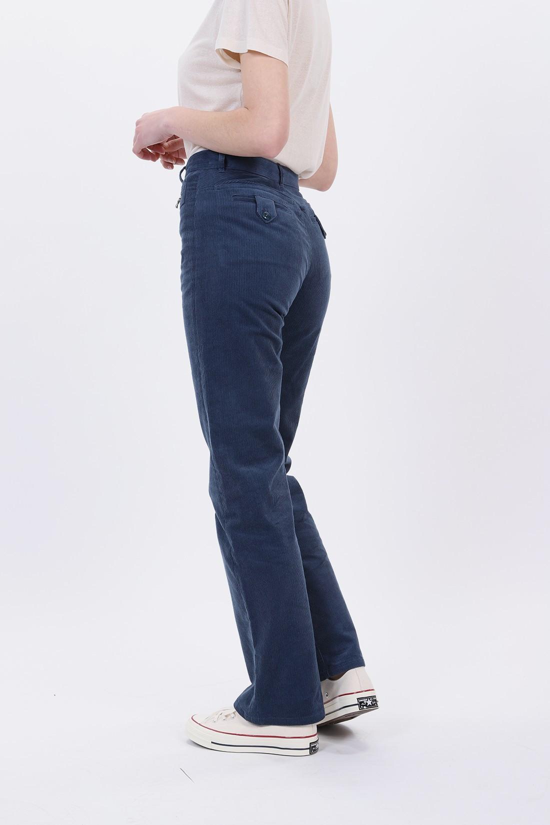 A.P.C. FOR WOMAN / Jean newport Bleu acier