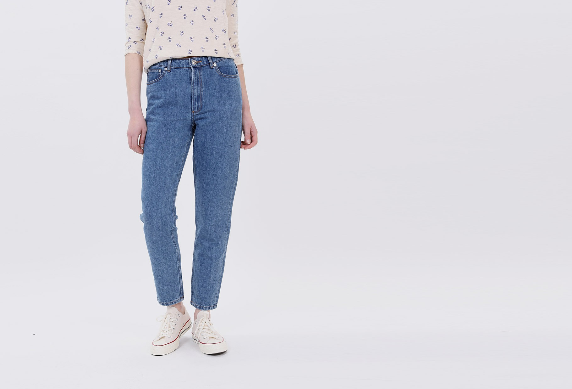 A.P.C. FOR WOMAN / Jean 80s