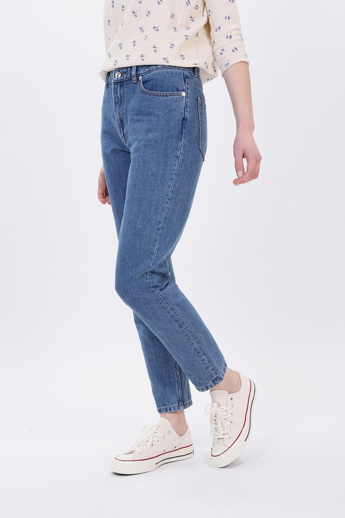 A.P.C. FOR WOMAN / Jean 80s Indigo