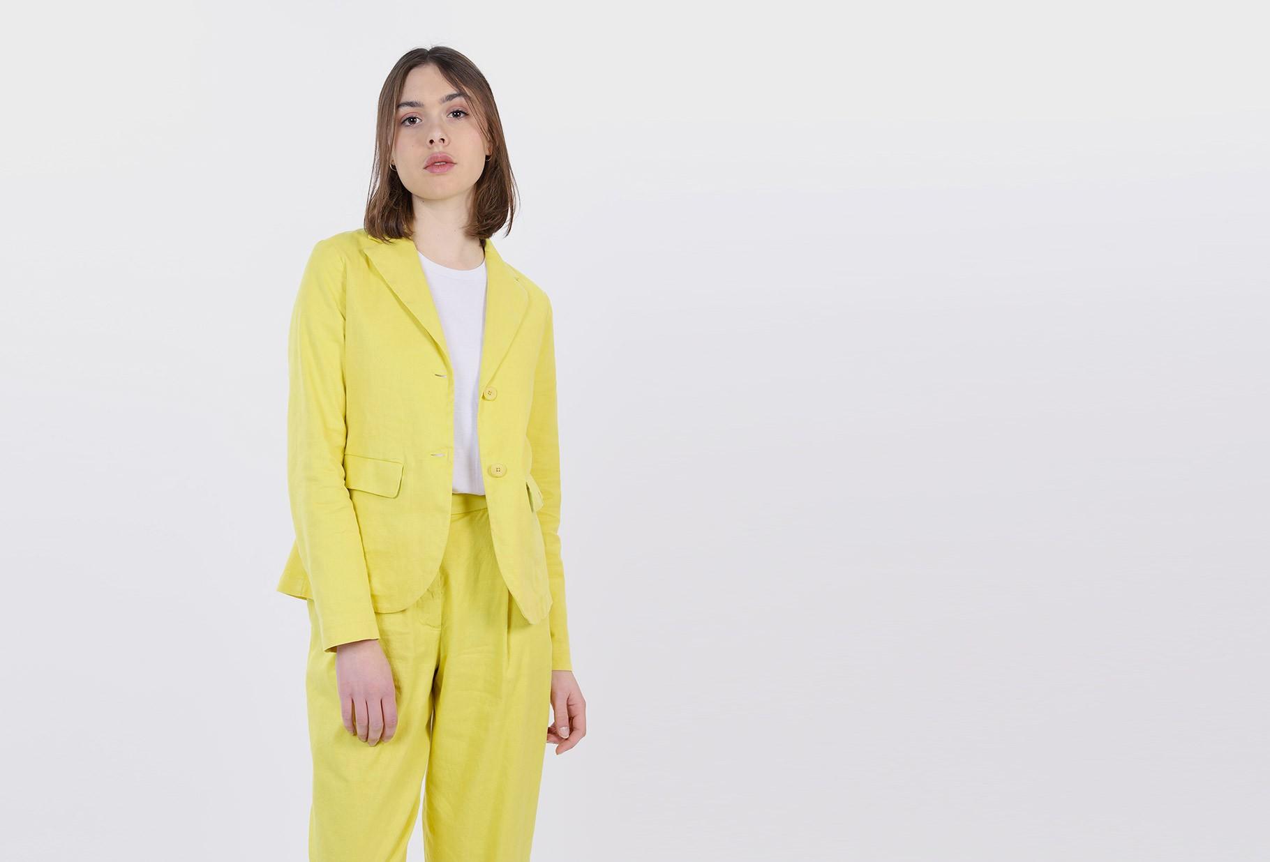 BARENA FOR WOMAN / Jacket flora rubio Limone