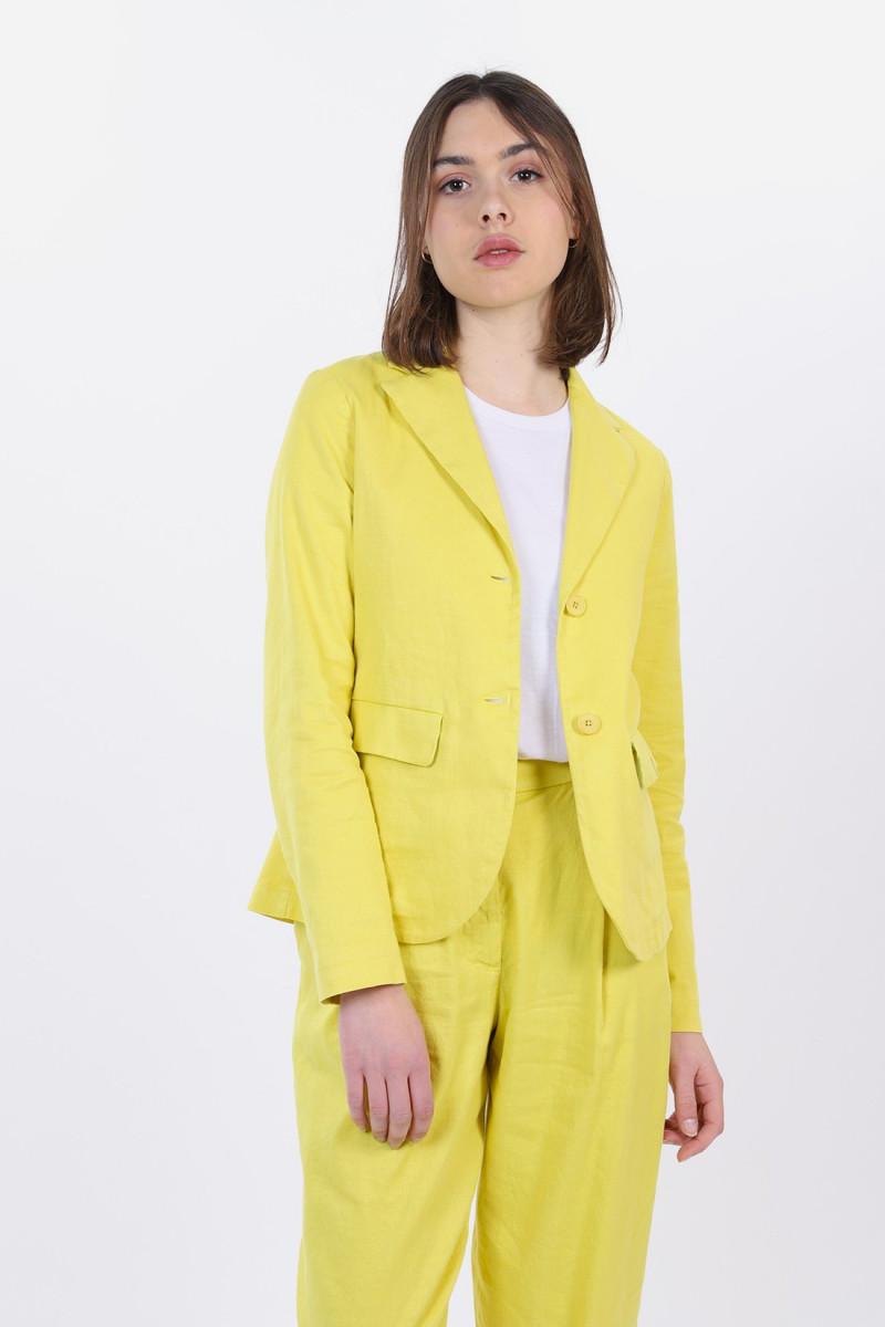 Jacket flora rubio Limone