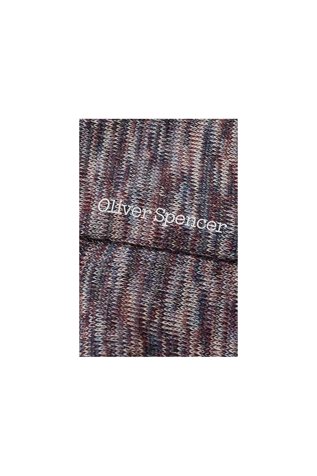 OLIVER SPENCER / Miller socks Pink blue