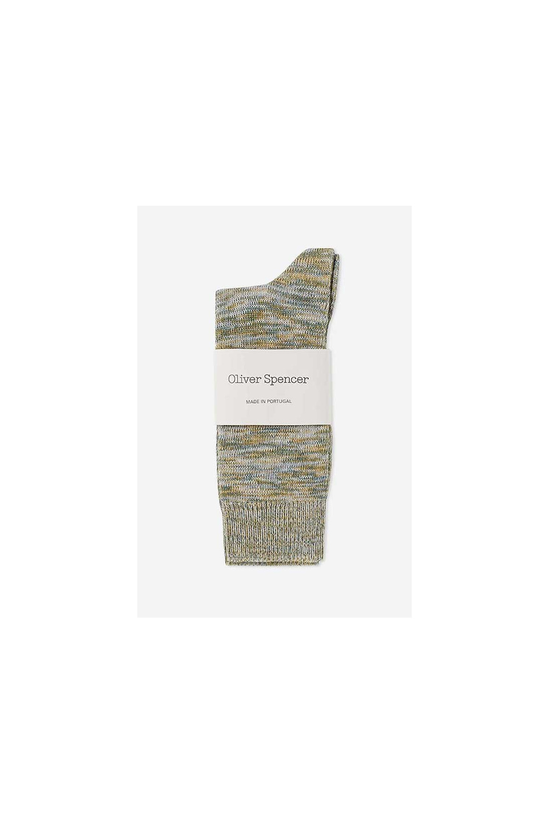 OLIVER SPENCER / Miller socks Green