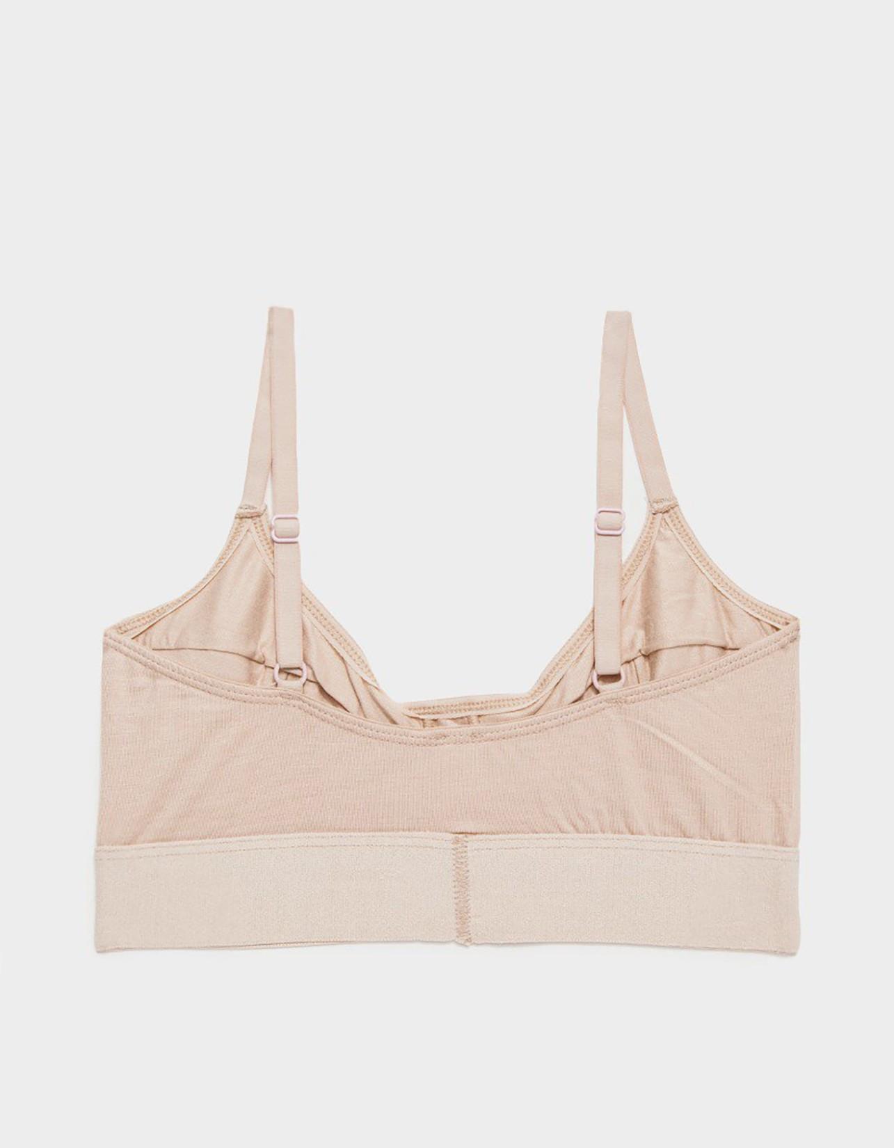 BASERANGE / Soft bra Nude