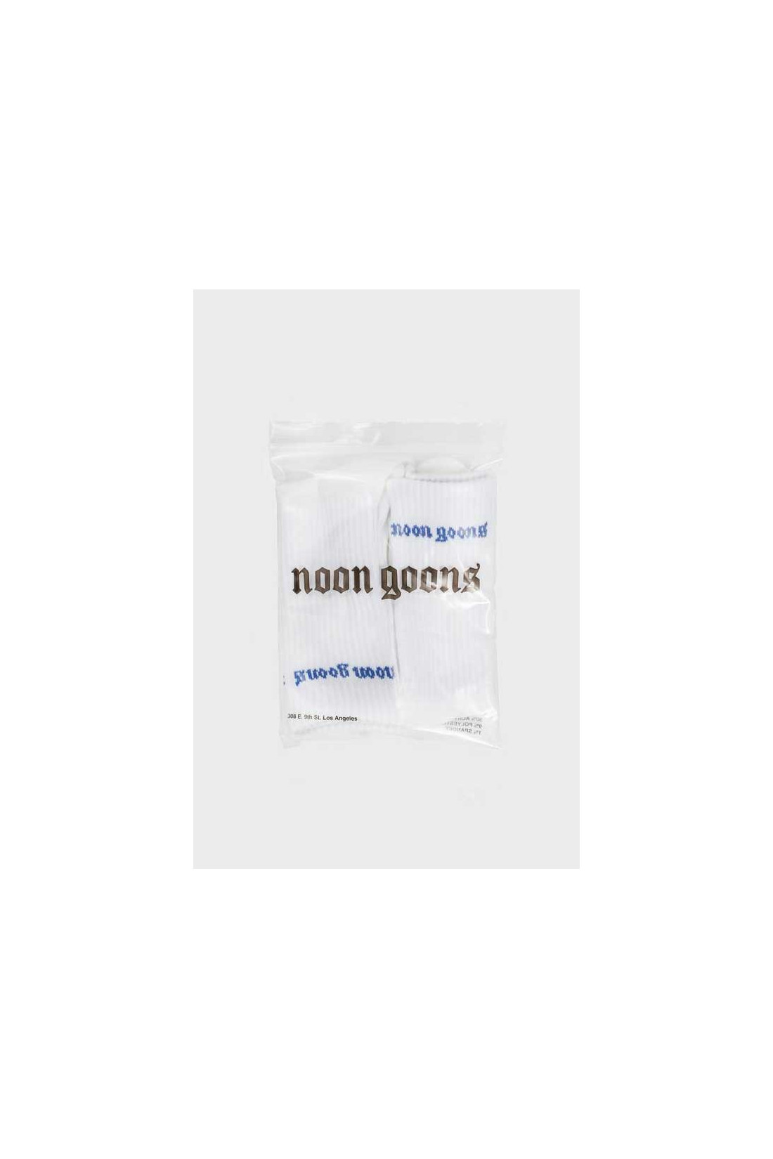 NOON GOONS / Stop sox old english pack Blue