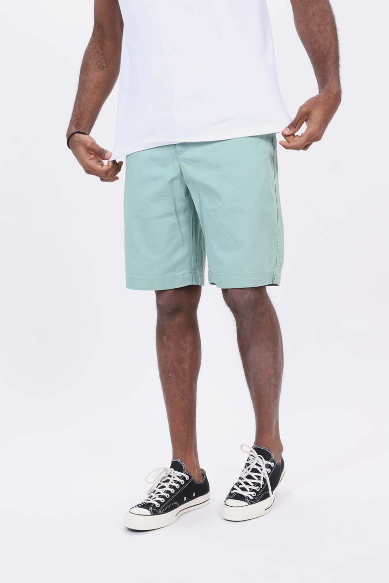 Chino relaxed fit short Mint