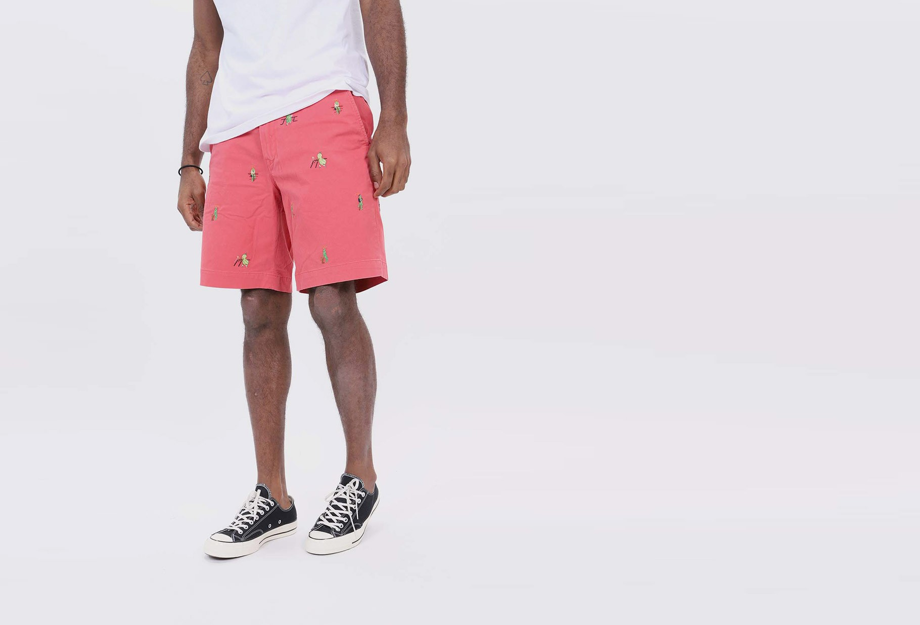 POLO RALPH LAUREN / Chino relaxed fit short Red