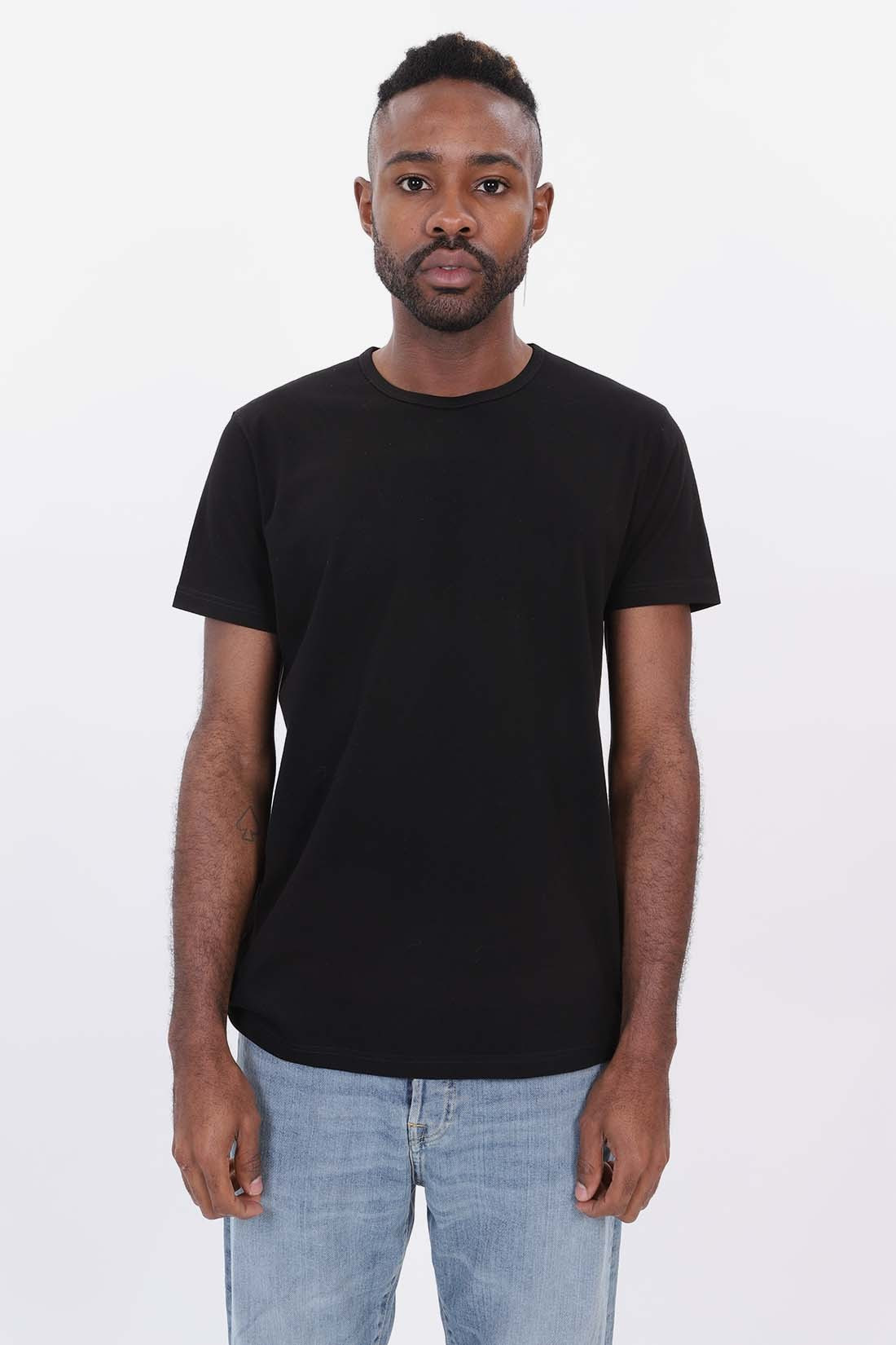 EDWIN / Double pack ss tee Black