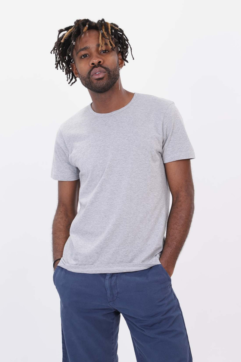 Double pack ss tee Grey