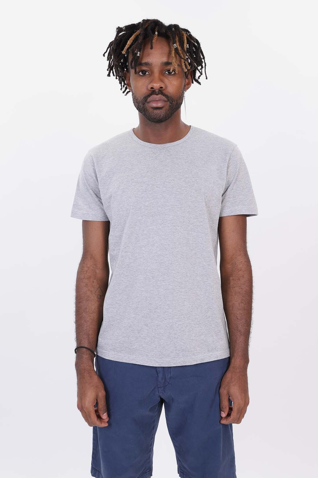 EDWIN / Double pack ss tee Grey