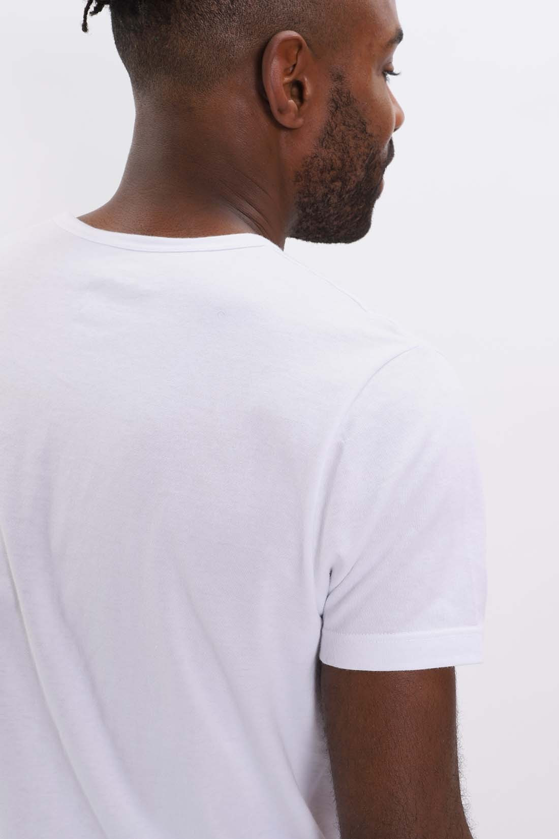 EDWIN / Double pack ss tee White