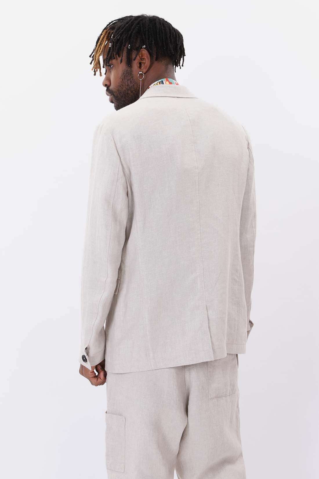 OLIVER SPENCER / Brookes jacket linen Stone