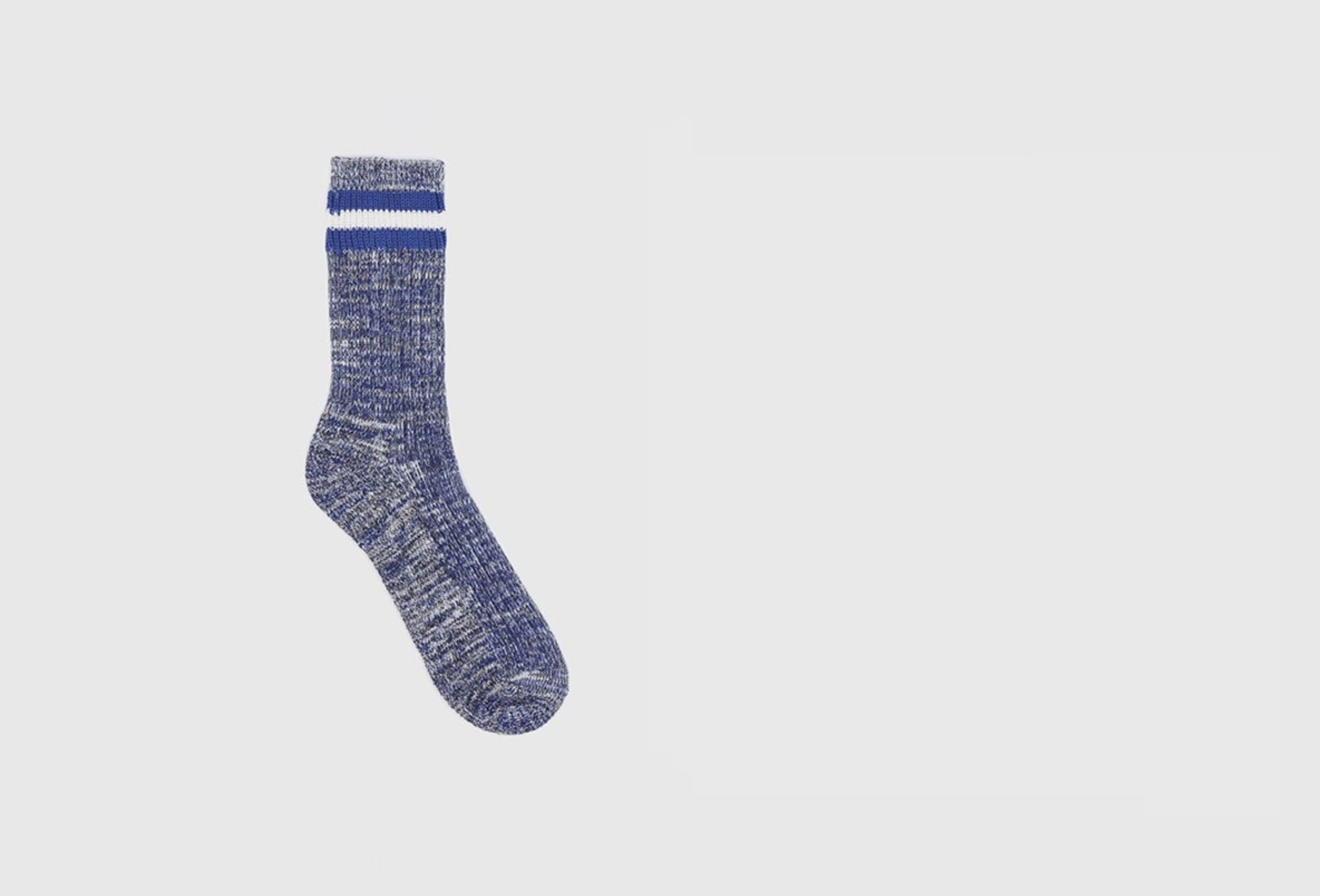 UNIVERSAL WORKS / Everyday stripe sock Navy