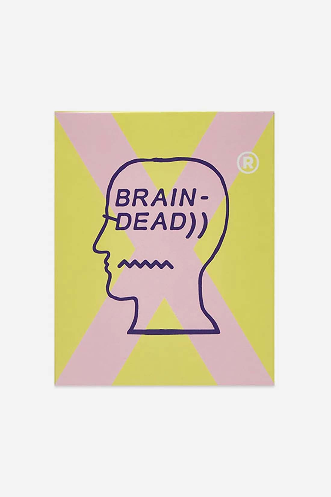 BRAIN DEAD / Bd candle Yellow