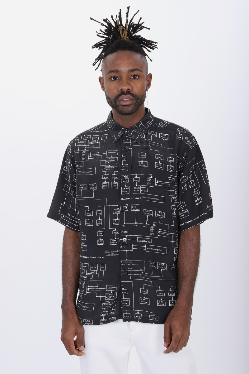 Sound system shirt Black