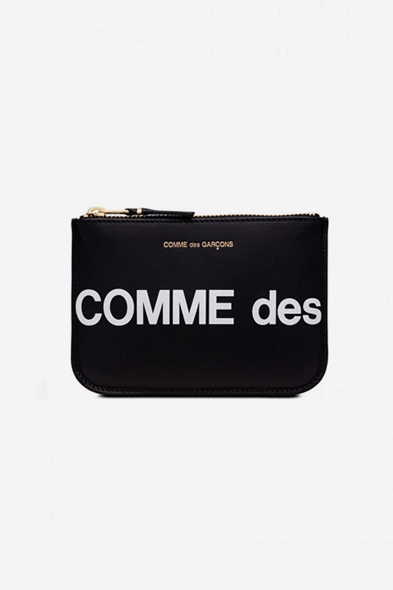 Cdg huge logo wallet sa8100hl Black