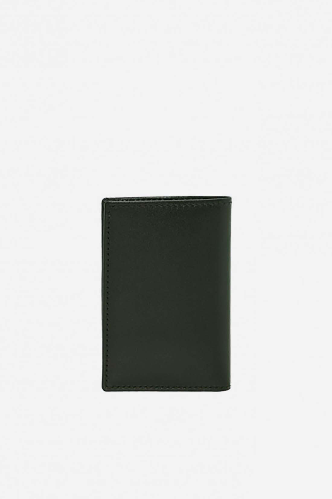 CDG WALLETS / Cdg classic leather sa6400 Bottle green