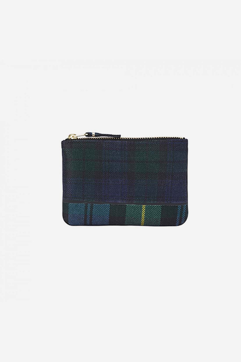 Cdg tartan patchwork sa8100tp Green