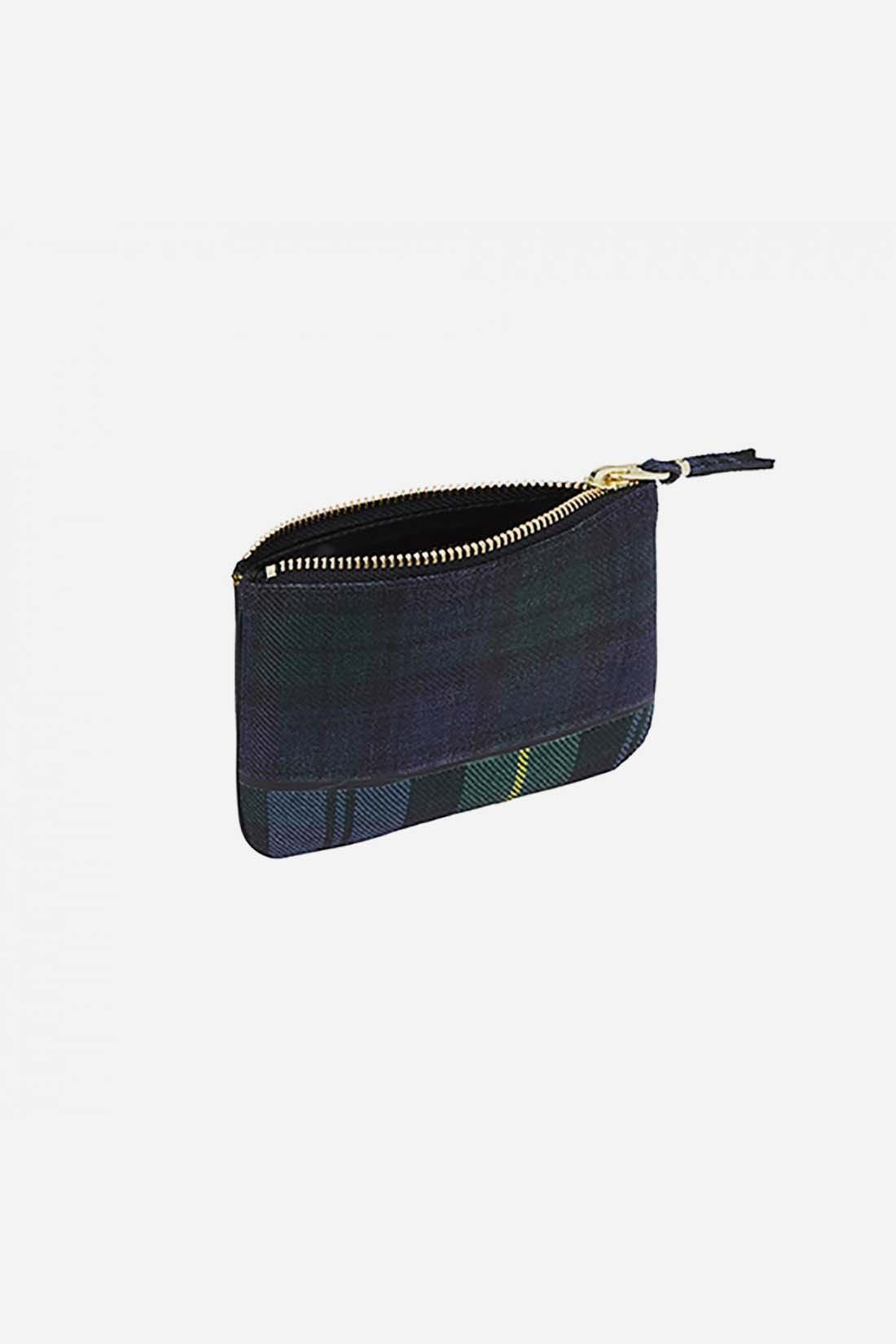 CDG WALLETS FOR WOMAN / Cdg tartan patchwork sa8100tp Green