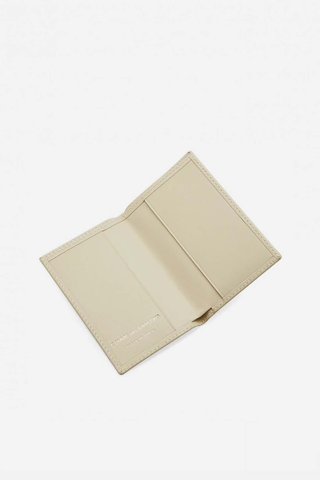 CDG WALLETS / Cdg classic leather sa6400 Off white