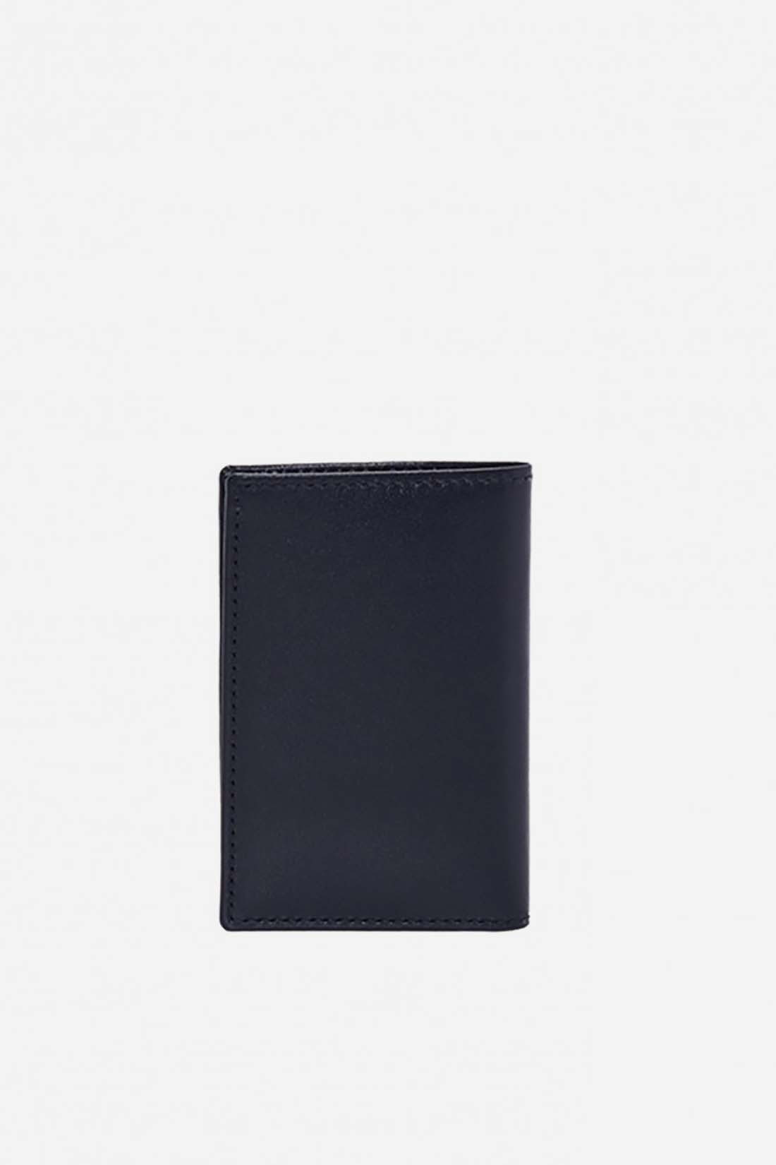 CDG WALLETS / Cdg classic leather sa6400 Navy