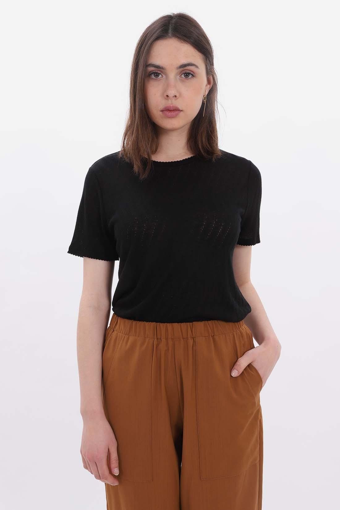 A.P.C. FOR WOMAN / T-shirt bail Noir