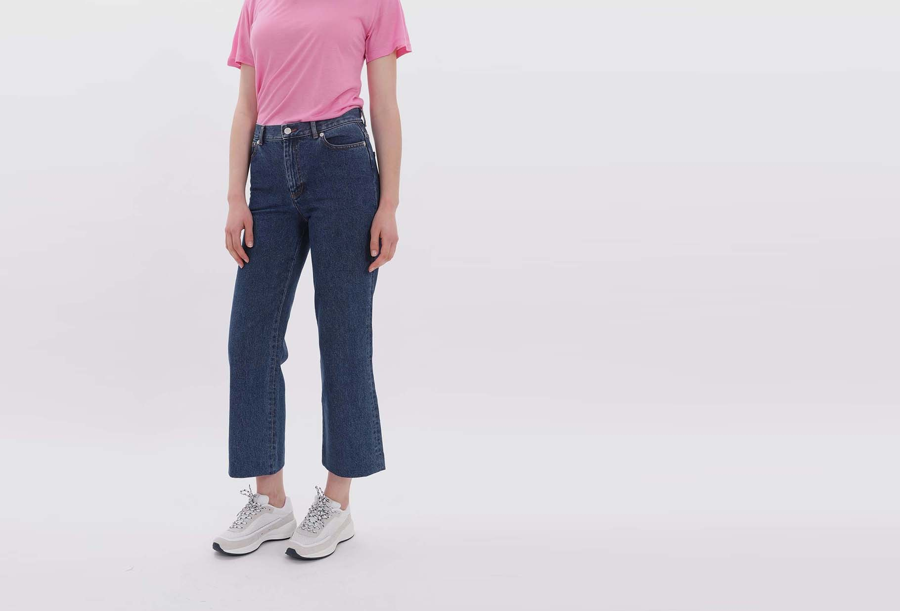 A.P.C. FOR WOMAN / Jean sailor Indigo delave