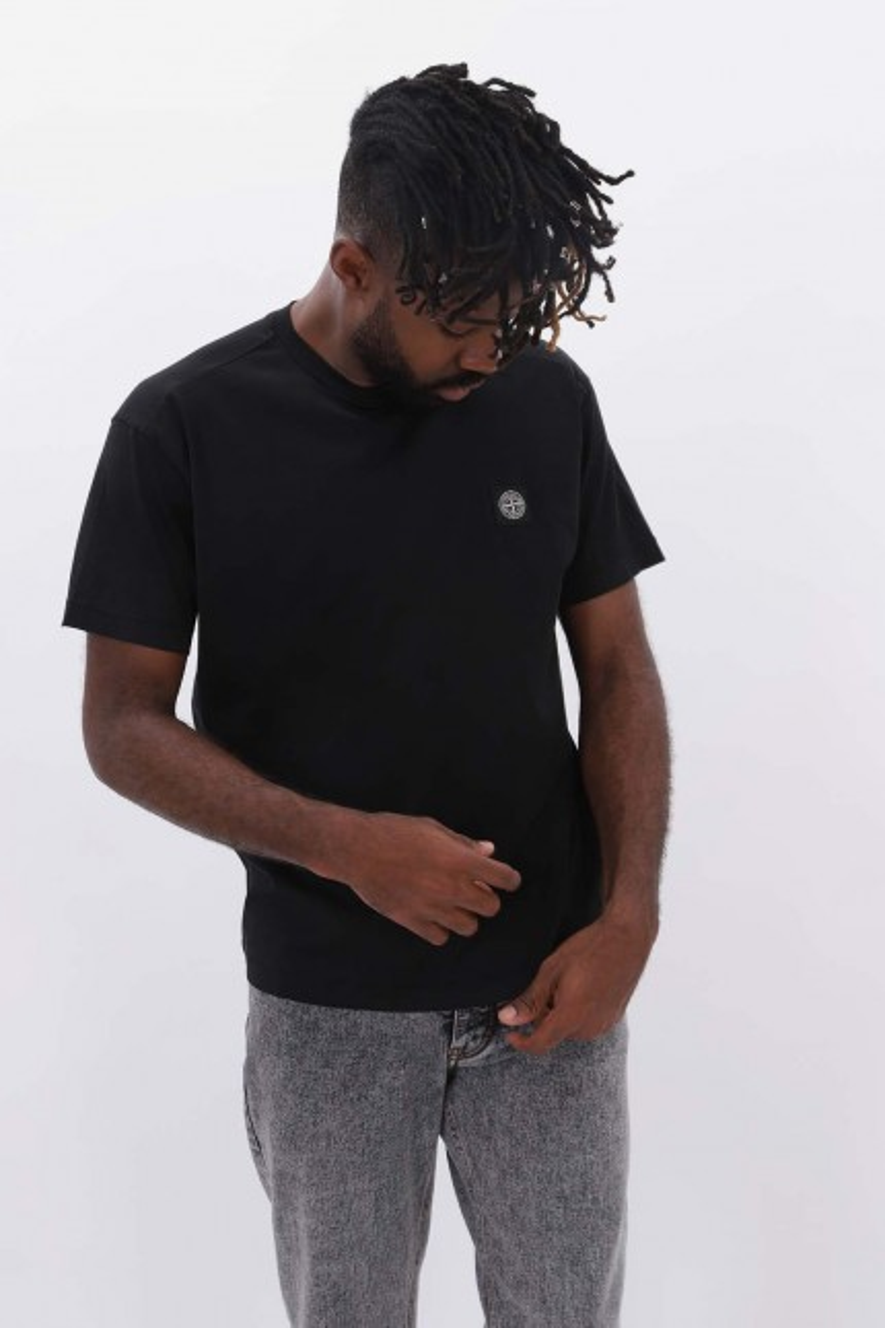 24113 ss t shirt v0029 Nero