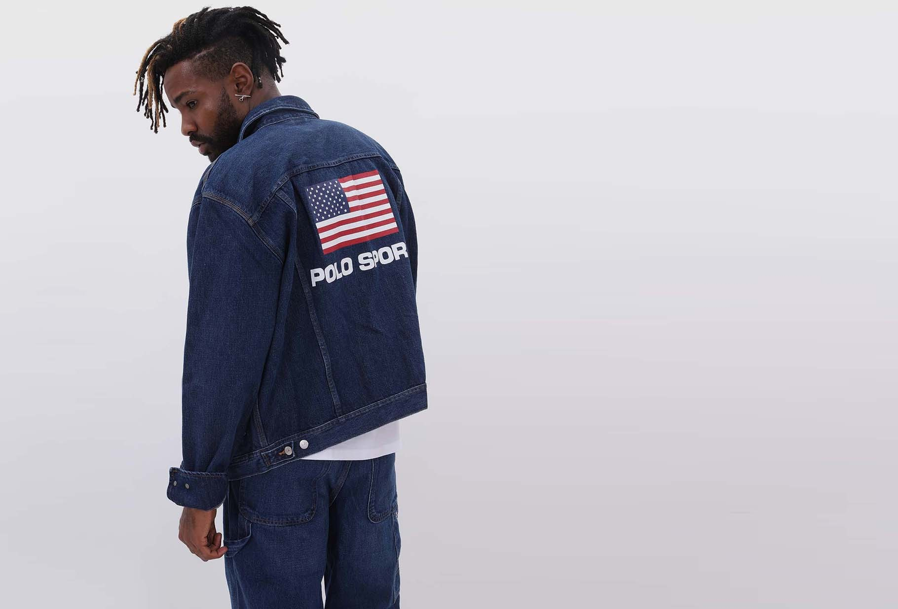 POLO RALPH LAUREN / Polo sport denim jacket Burroughs wash