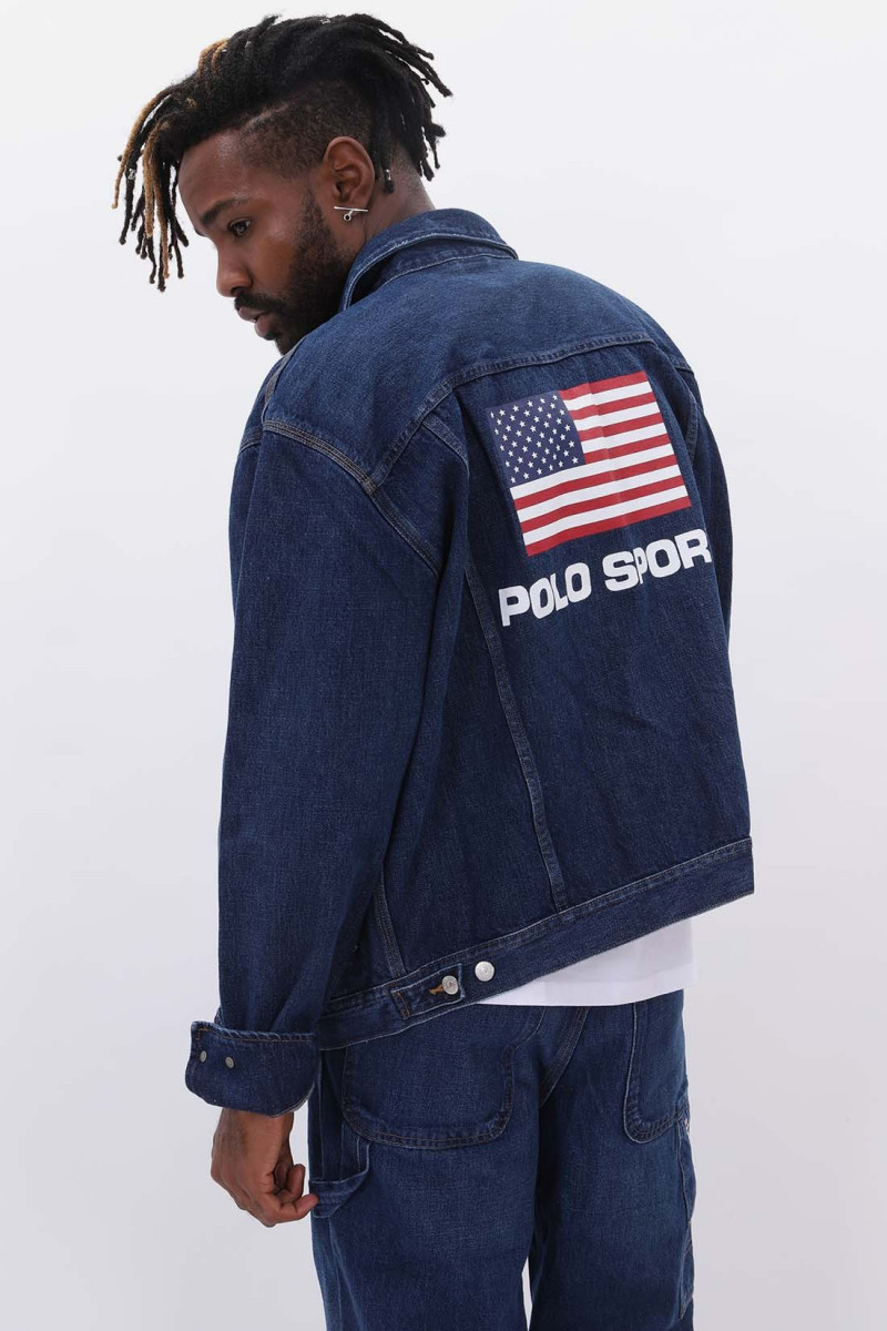 Polo sport denim jacket Burroughs wash