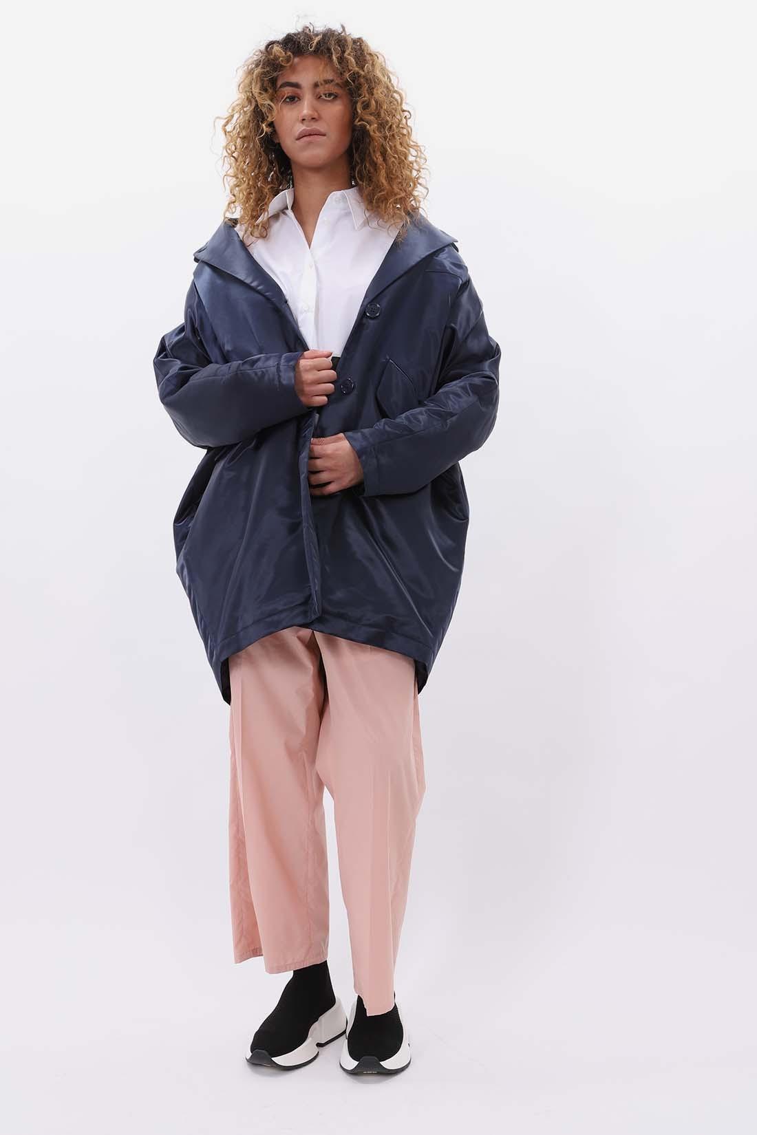 MM6 MAISON MARGIELA / Cocon coat Navy