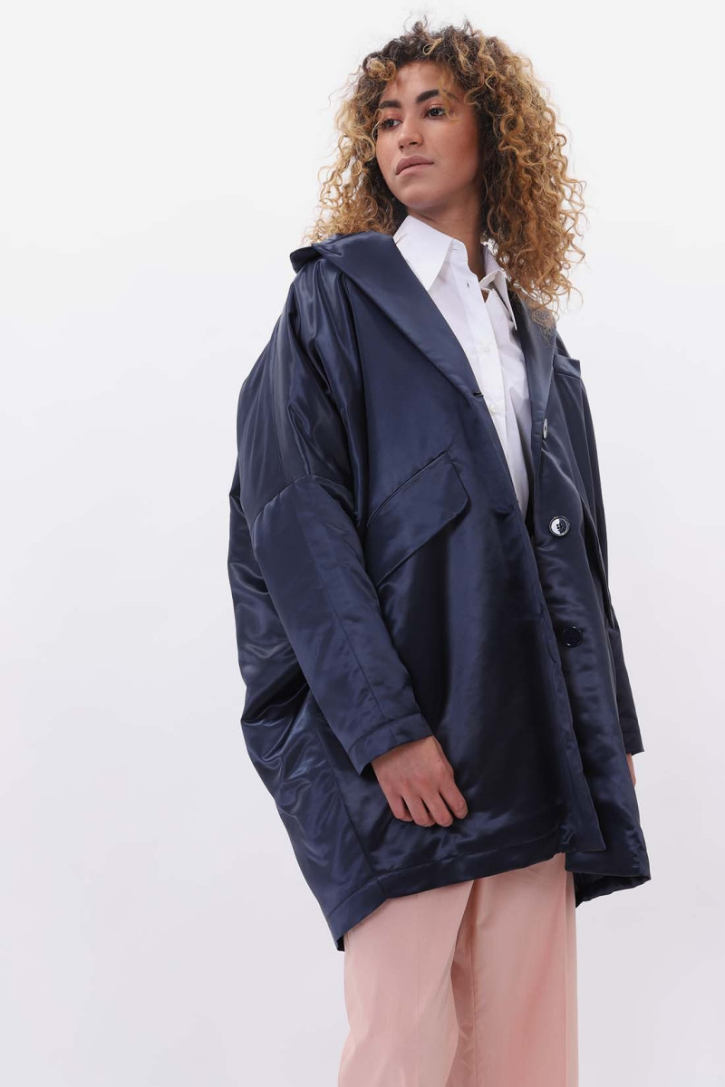 Cocon coat Navy