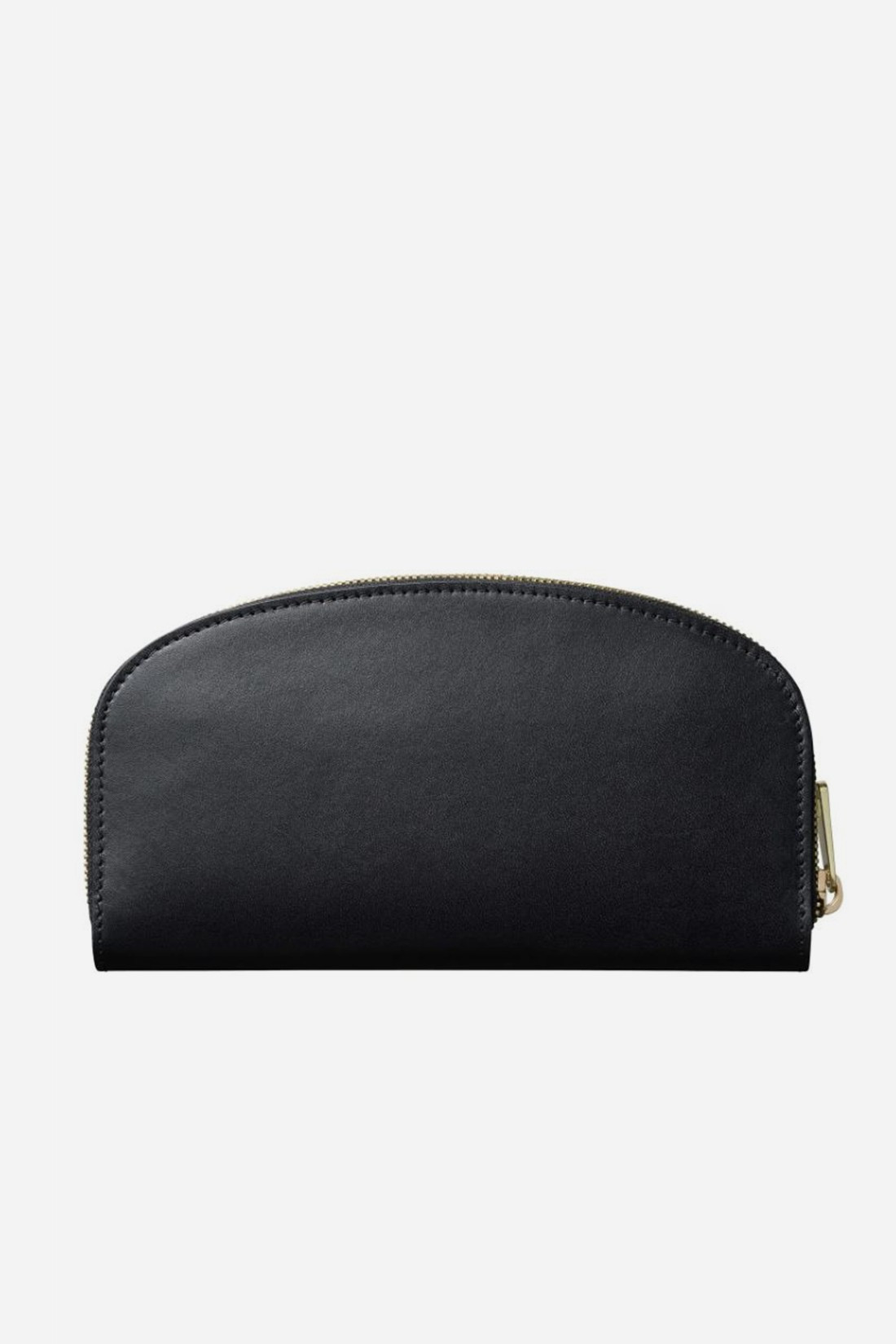 A.P.C. FOR WOMAN / Portefeuille demi-lune Noir
