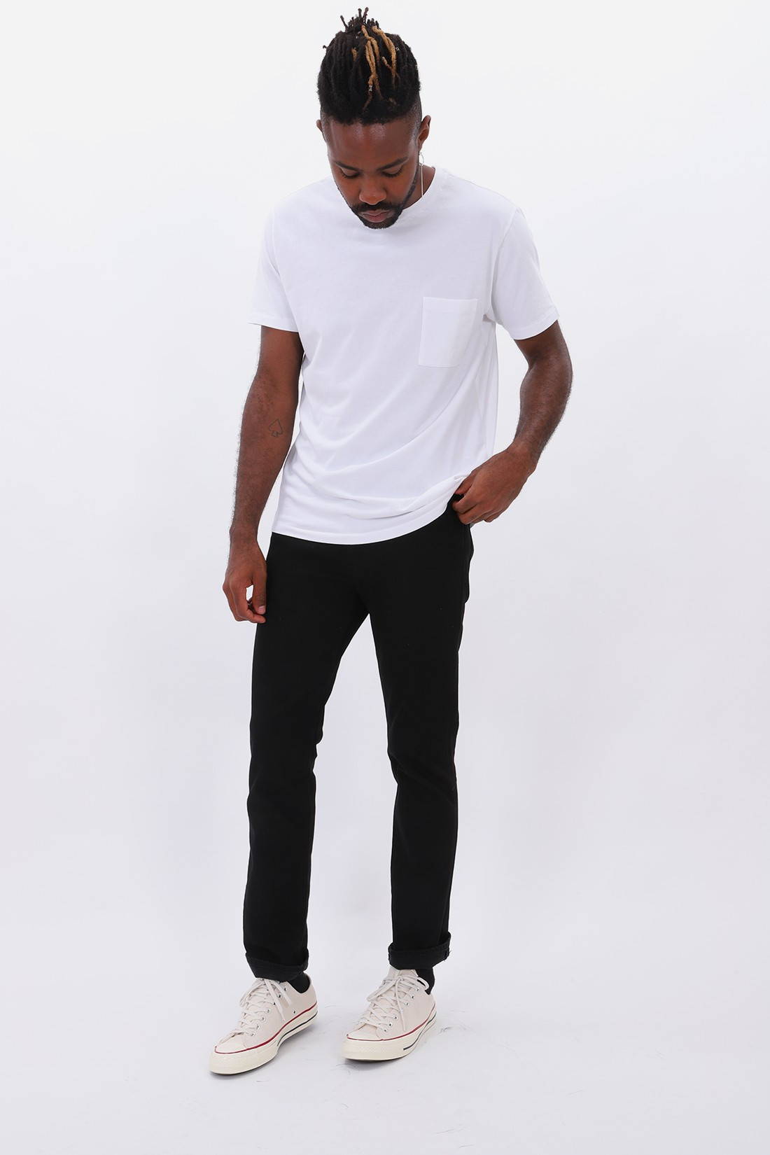 LEVIS MADE CRAFTED / Lmc 511 black denim Rinsed