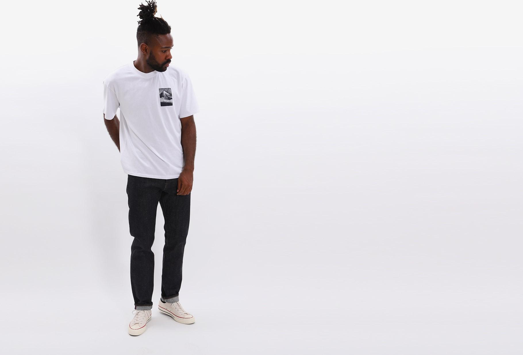 EDWIN / From mt fuji tshirt White