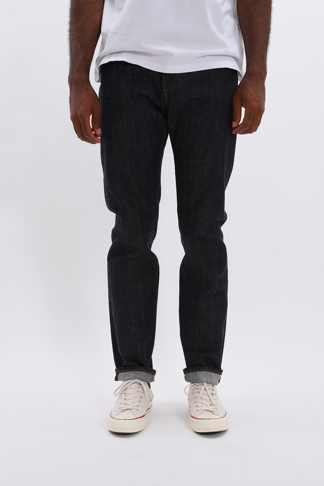 EDWIN / Regular tapered nihon mempu Indigo raw