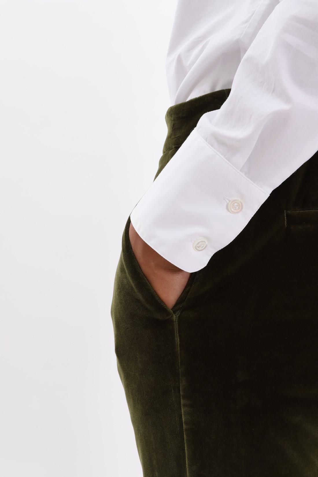 BARENA FOR WOMAN / Pantalone ersilia loredan Oliva