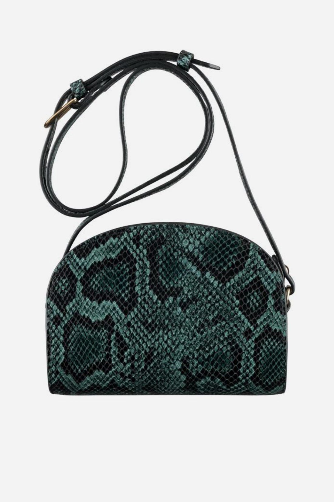A.P.C. FOR WOMAN / Sac demi-lune Vert fonce