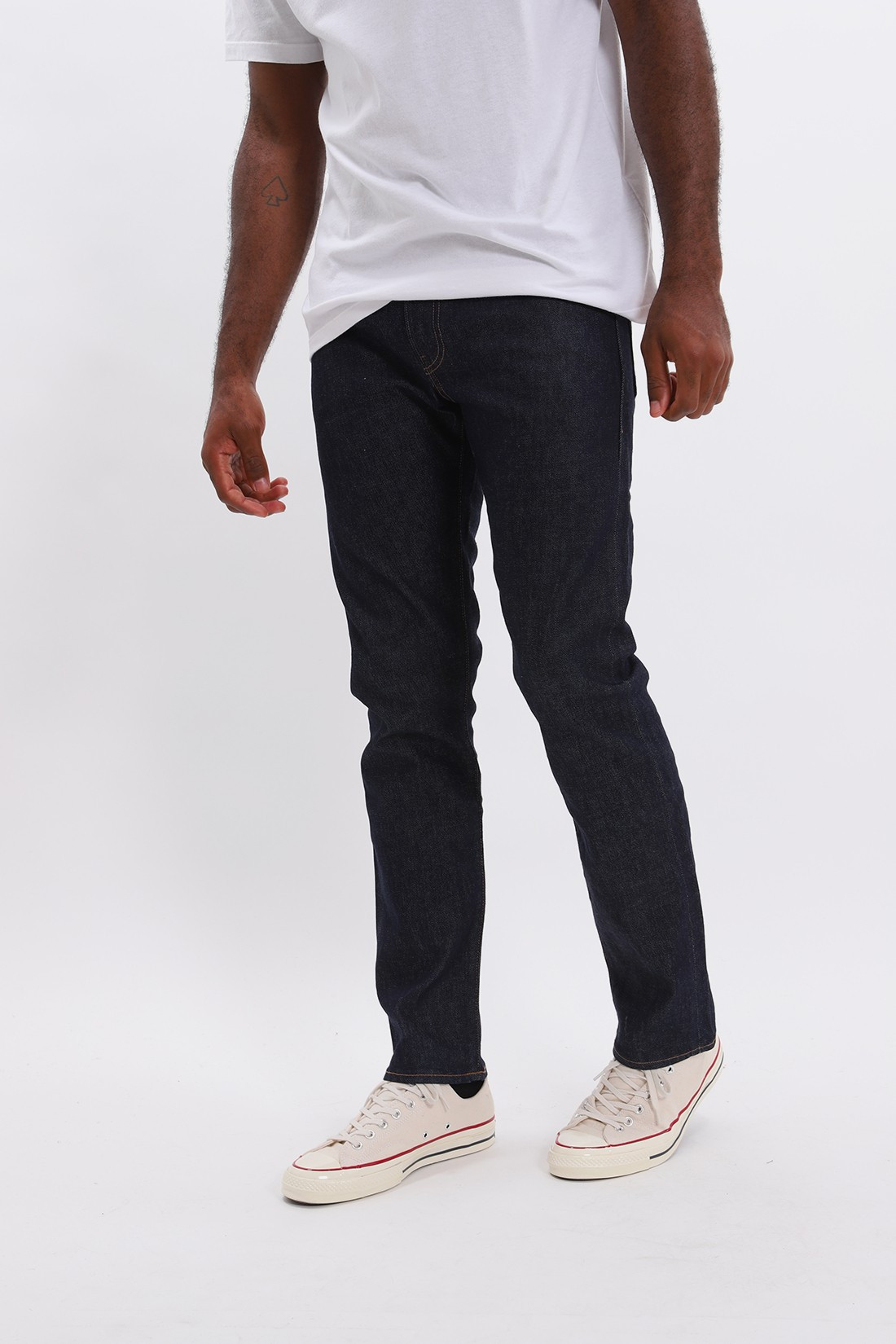 LEVI'S MADE & CRAFTED / Lmc 511 resin rinsed denim Resin rinsed