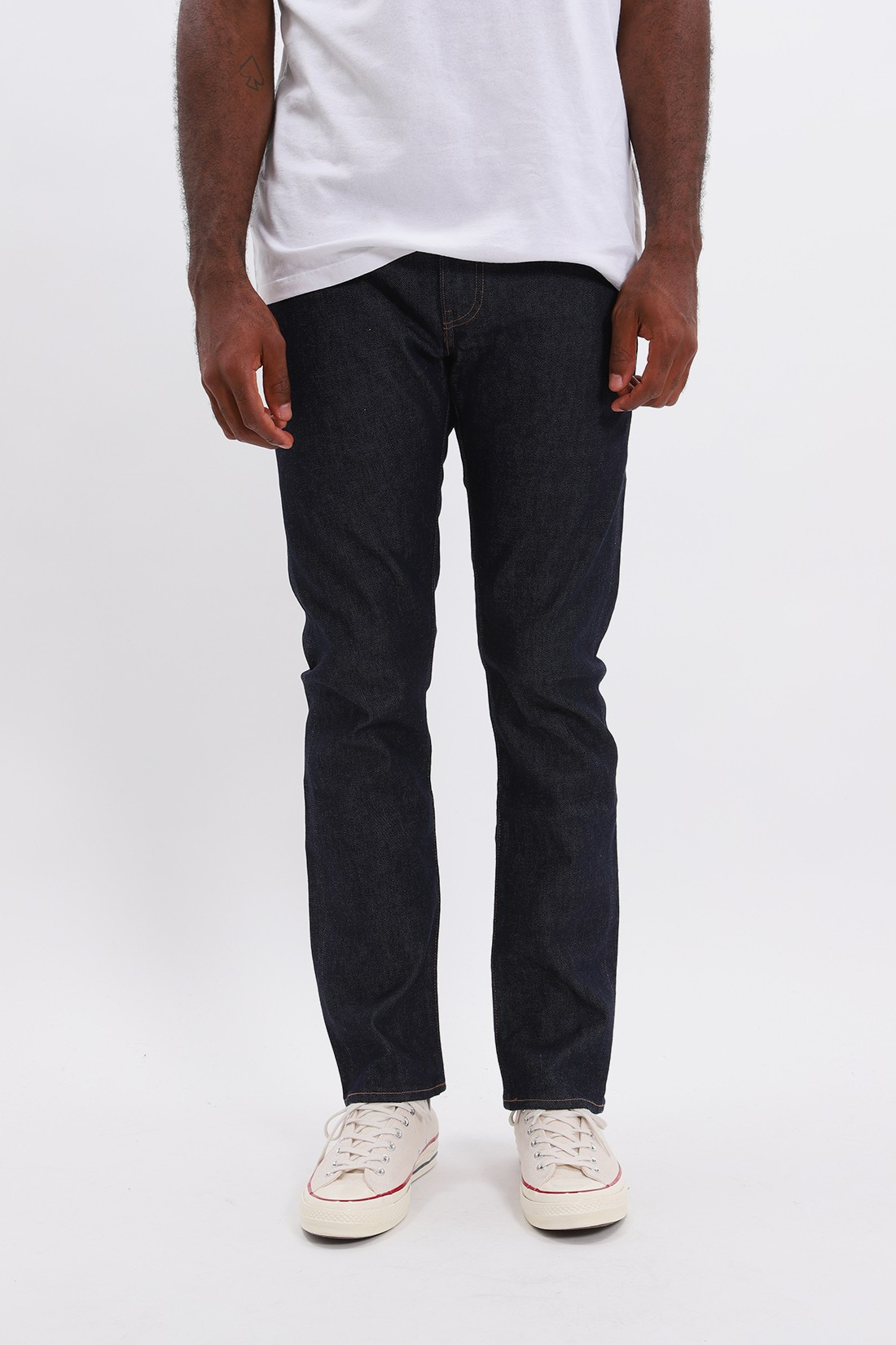 LEVIS MADE CRAFTED / Lmc 511 resin rinsed denim Resin rinsed